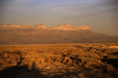 Guadalupe Mountains. (32.939 Byte)